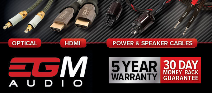 EGM Audio Cable Range Review