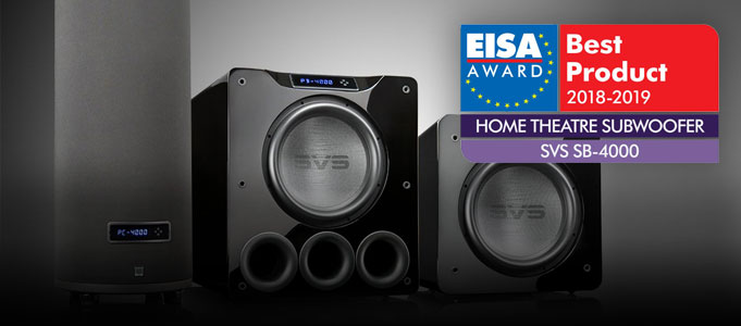 SVS AWARDED WITH TOP SUBWOOFER HONOURS
