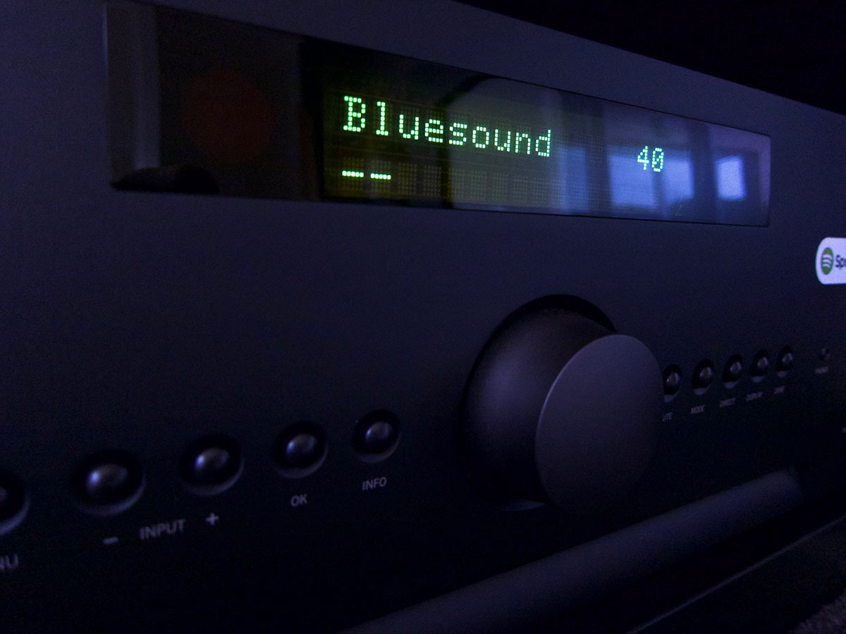Arcam SR250 Bluesound