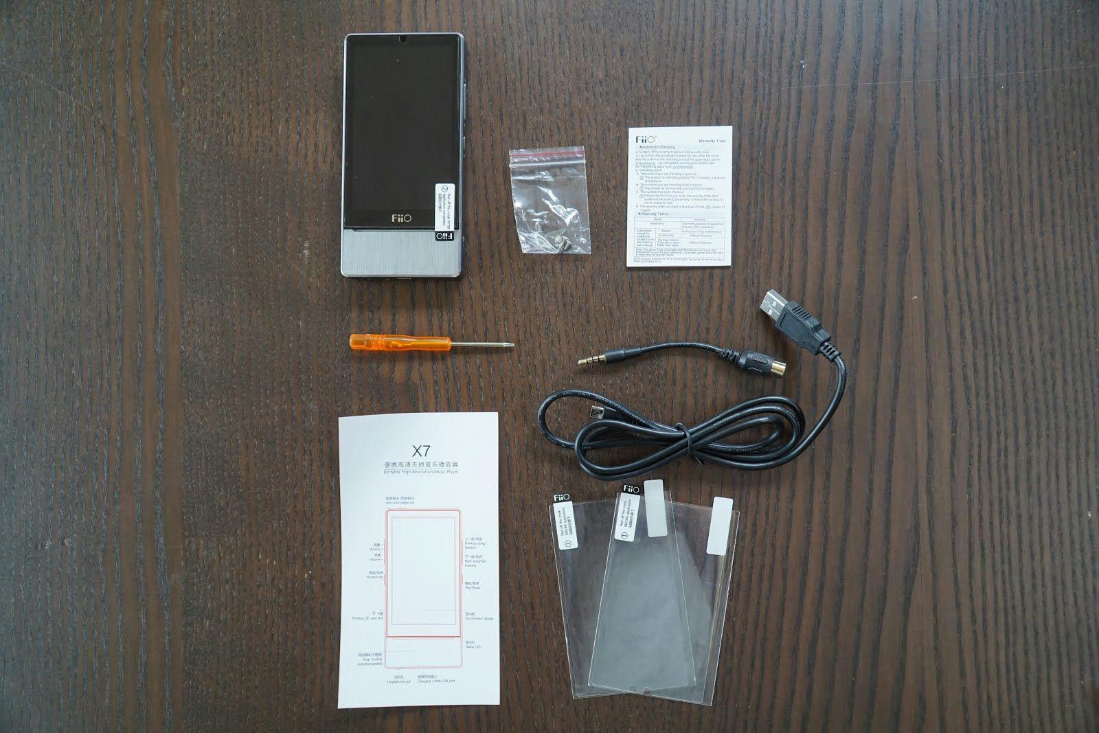 Review: FiiO X7 Digital Audio Player
