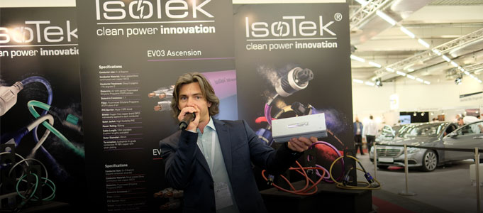 NEW PRODUCTS FROM ISOTEK SHOWN AT MUNICH HIGH END SHOW