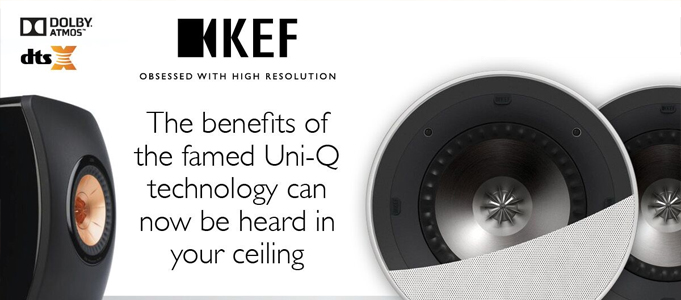 KEF's Famed Uni-Q Driver In Your Ceiling