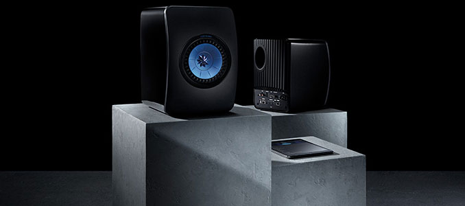 KEF LS50 Wireless Active Speakers Now Available