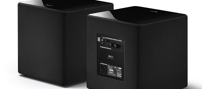 KEF'S KUBE SUBWOOFERS HAVE ARRIVED