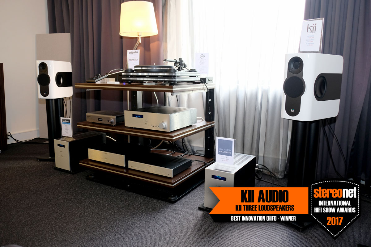 Best HiFi Innovation - Kii Audio
