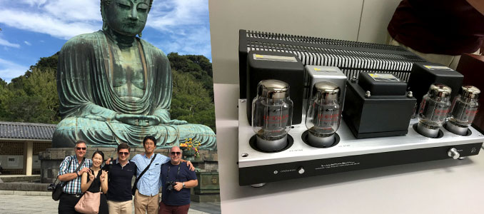 Luxman's Exclusive Release as Aussie Dealers Visit Japan Factory