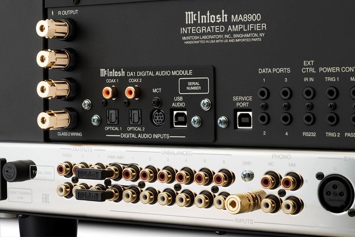 McIntosh MA8900 Rear