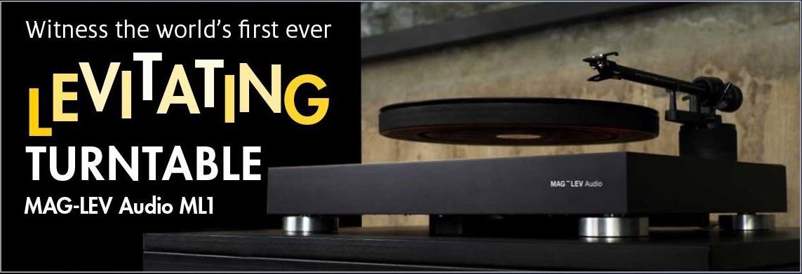 MAG-LEV Levitating Turntable Australia