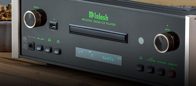McIntosh Releases MCD600 SACD Player and MS500 Music