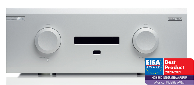 Musical Fidelity M8xi Super Integrated Amp Takes Out Top Award