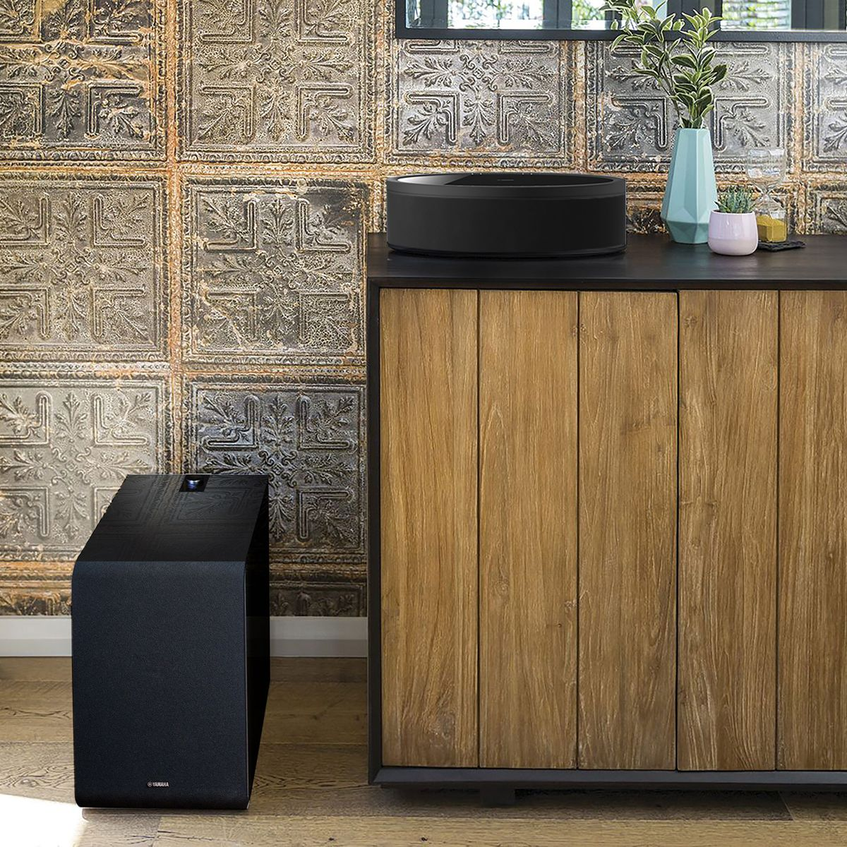 Yamaha Ditches Cables for Easy Wireless Home Theatre