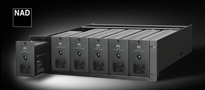 NAD Stereo Network Amplifier for Multi Room Audio