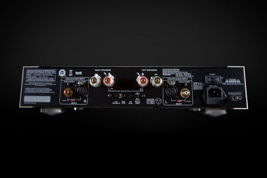NAD's D3020 and Masters M222 Amplifier Receive a V2 Update
