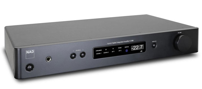 NAD's C338 Integrated Amplifier with Chromecast Now Shipping