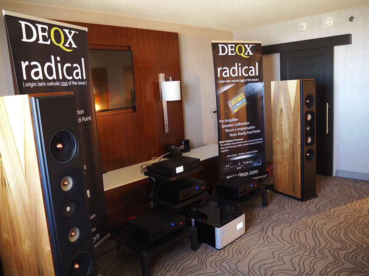 Room 1124 at Rocky Mountain Audio Fest, 2016