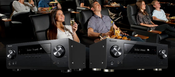 PIONEER INTRODUCES TWO NEW NETWORK AV RECEIVERS