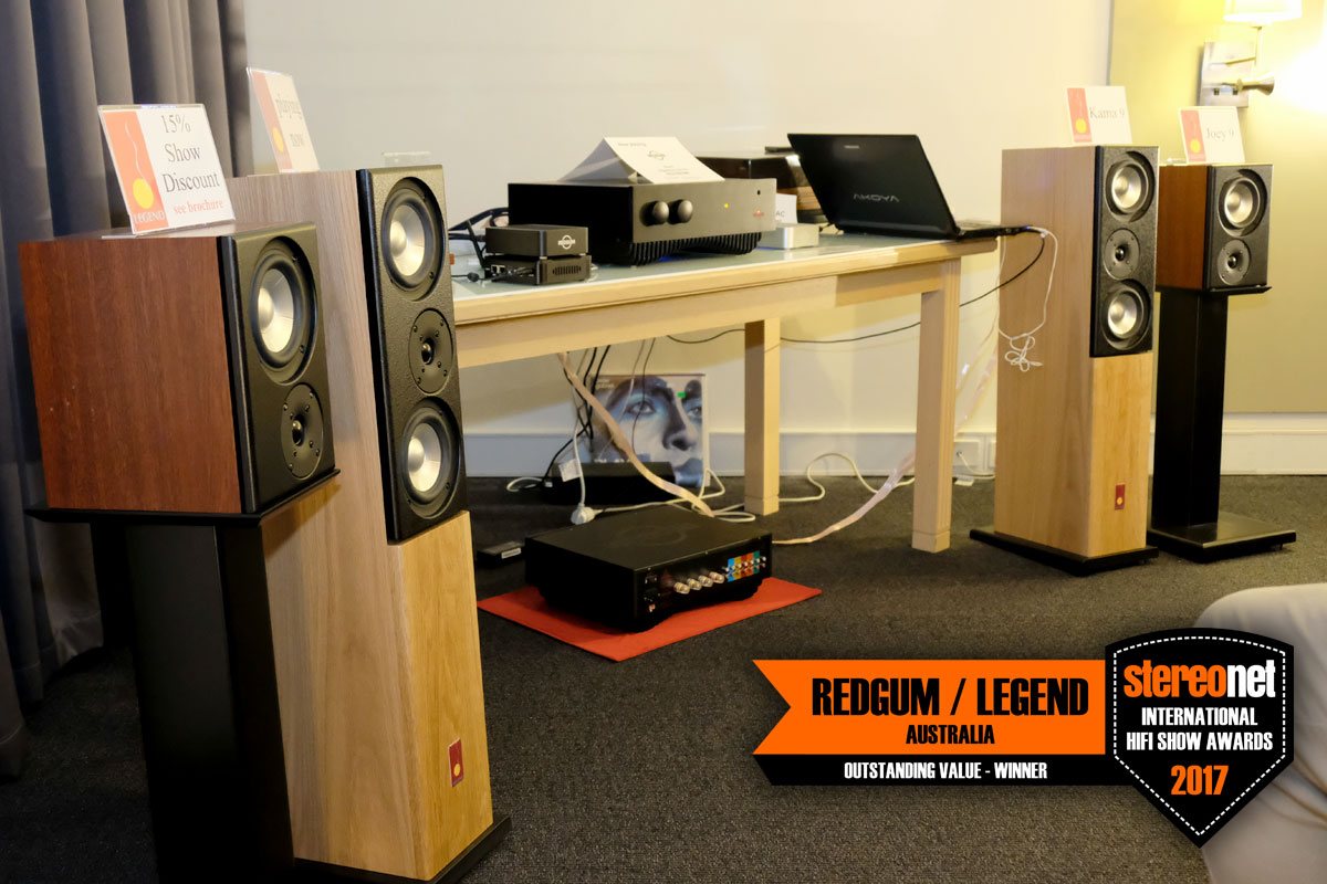 Redgum Audio- Legend Speakers - Outstanding Value