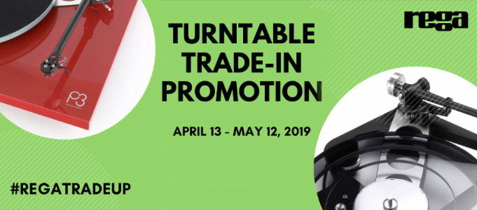 REGA TURNTABLE TRADE-IN PROMOTION