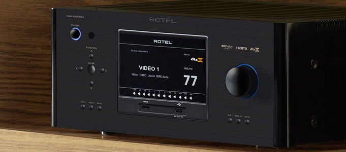Rotel Updates Surround Sound Processors