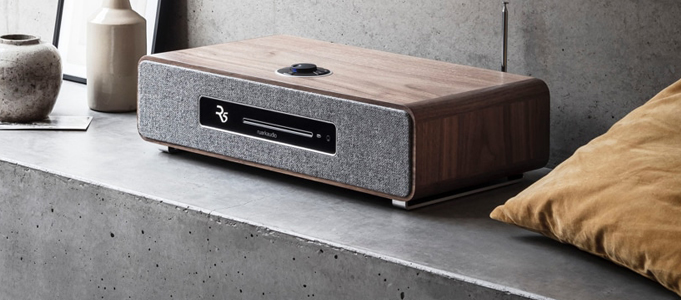 RUARK'S R5 HIGH FIDELITY MUSIC SYSTEM READY TO ROCK AND ROLL