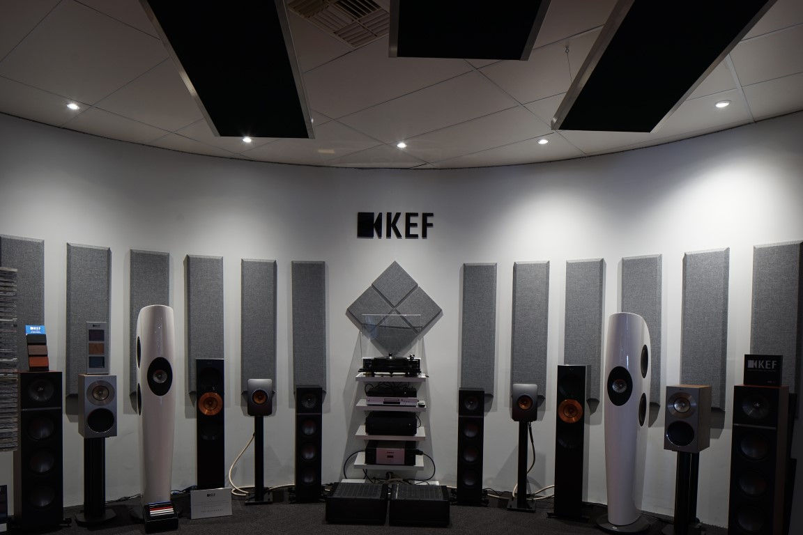 SAVI Systems KEF Showroom