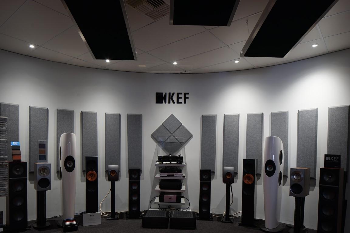 SAVI Systems KEF Showroom