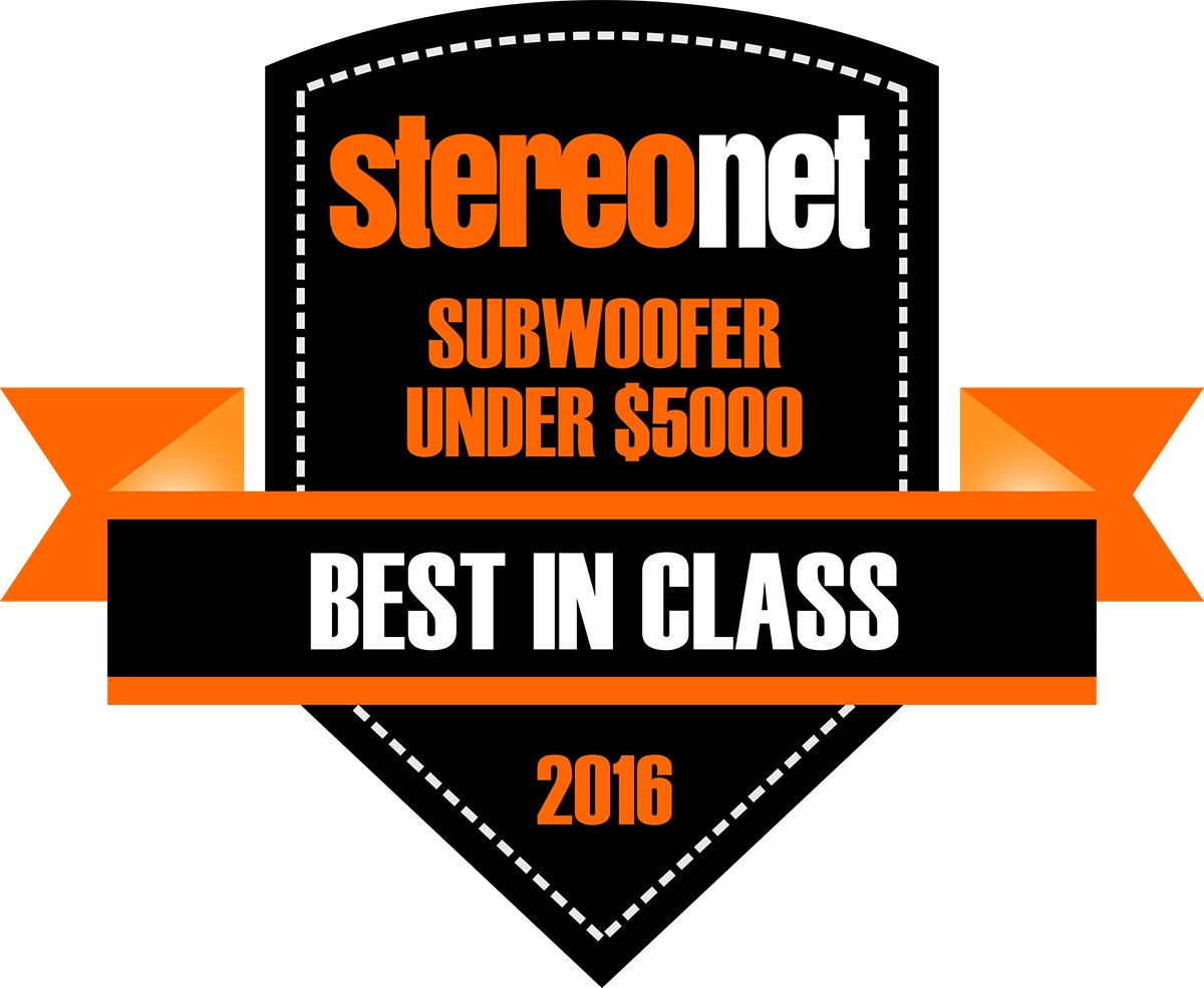 StereoNET 2016 - Best In Class - Subwoofer