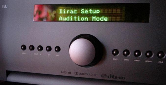 Arcam SR250 Dirac Setup