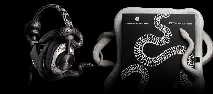 MASTER & DYNAMIC INKS IN LIMITED EDITION HEADPHONES