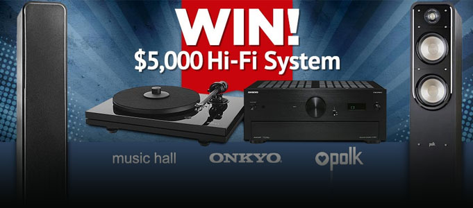 WIN A $5000 HI-FI SYSTEM WITH SELBY ACOUSTICS