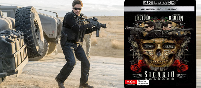 BLU-RAY REVIEW: SICARIO - DAY OF THE SOLDADO (4K ULTRA HD)