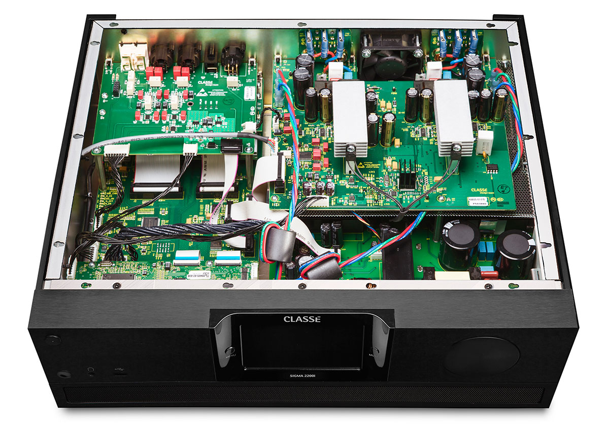 Classe Sigma 2200i Integrated Amplifier Internal