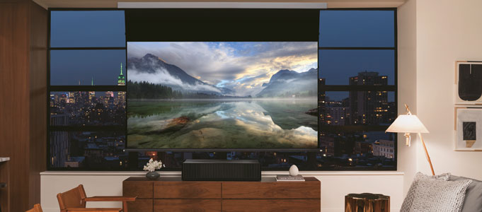 Sony's new projector offers a 120