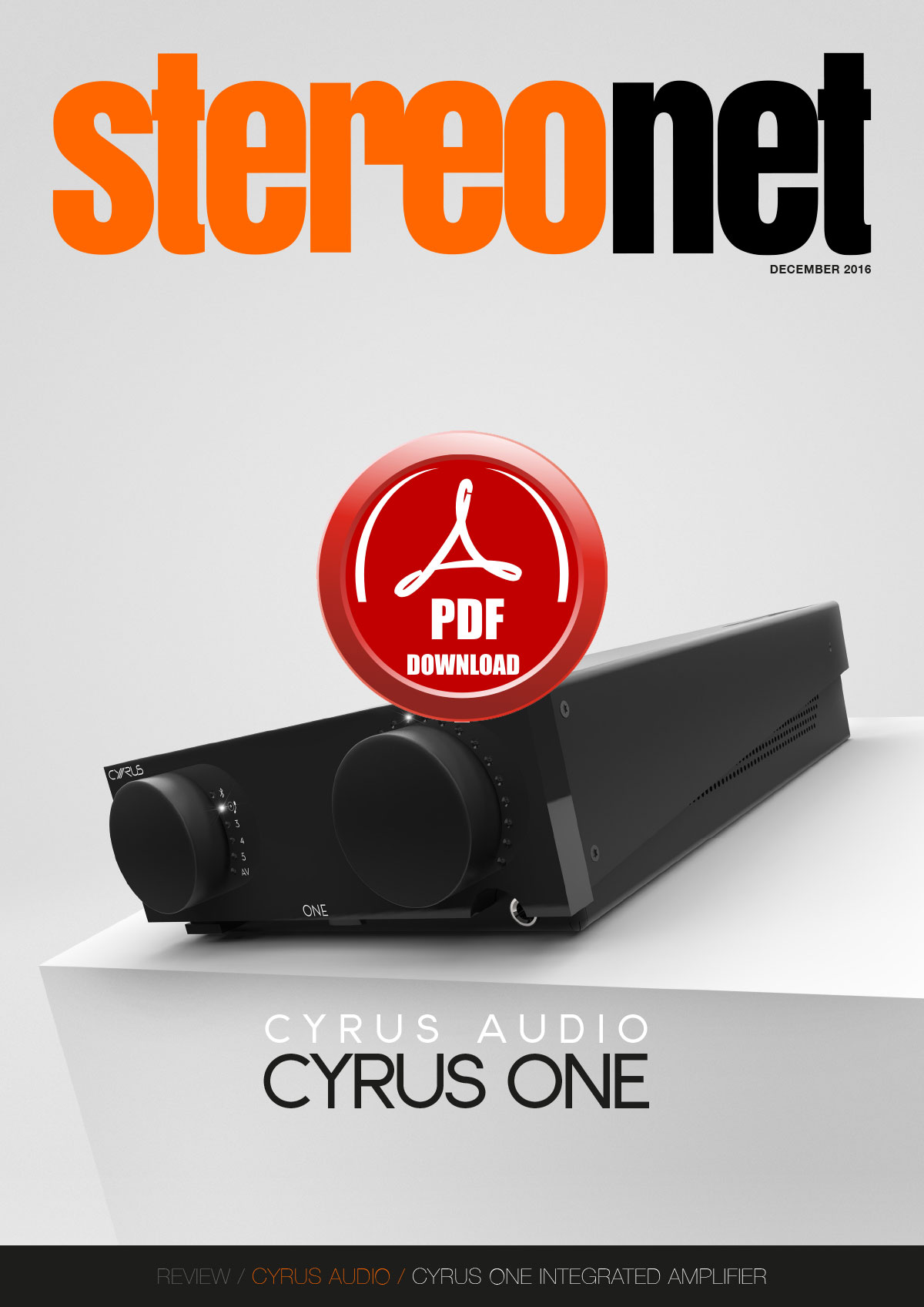 Cyrus ONE Integrated Amplifier Review