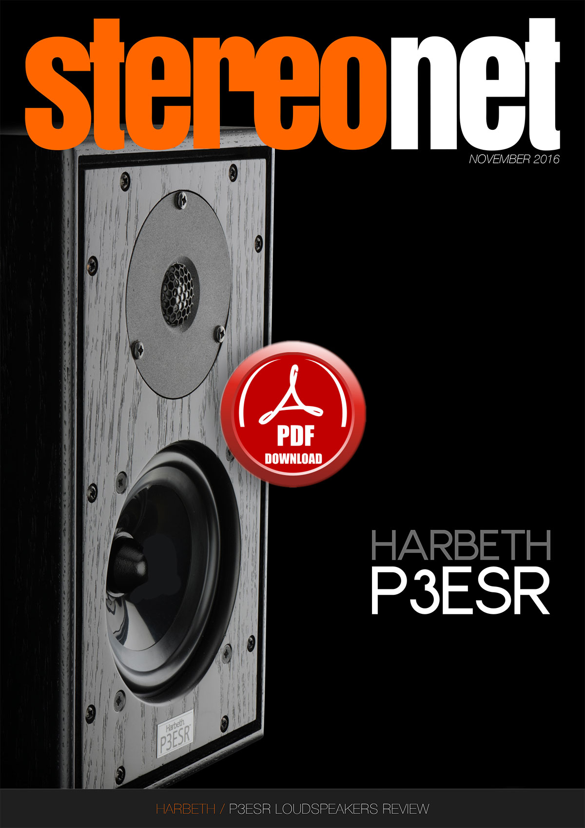 Harbeth P3ESR Loudspeaker Review