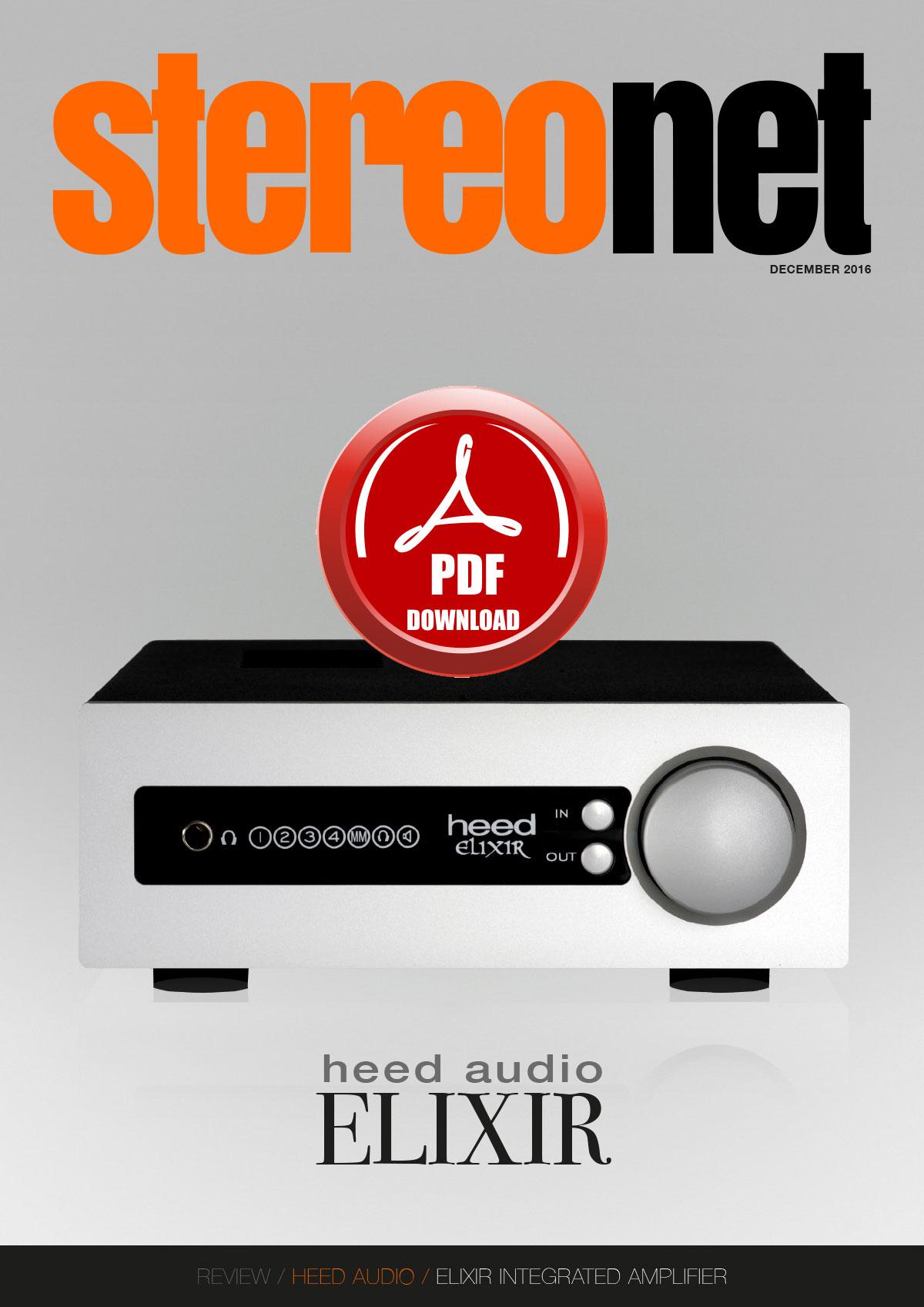 Review: Heed Audio Elixir Integrated Amplifier