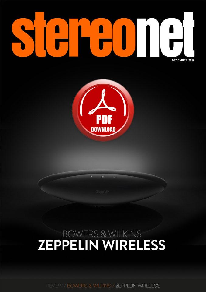 Bowers & Wilkins Zeppelin Wireless Review