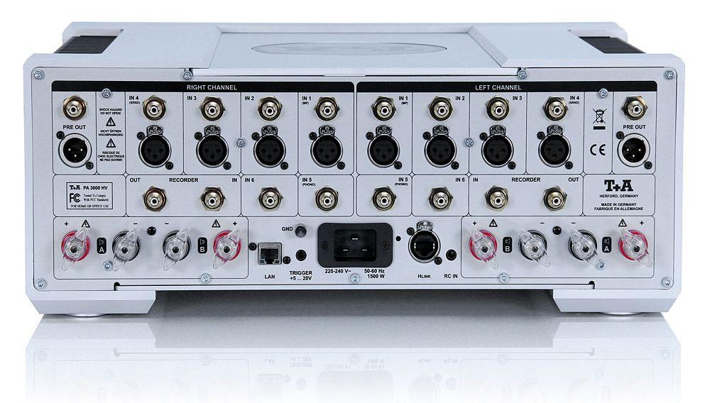 T+A PA3000HV Rear