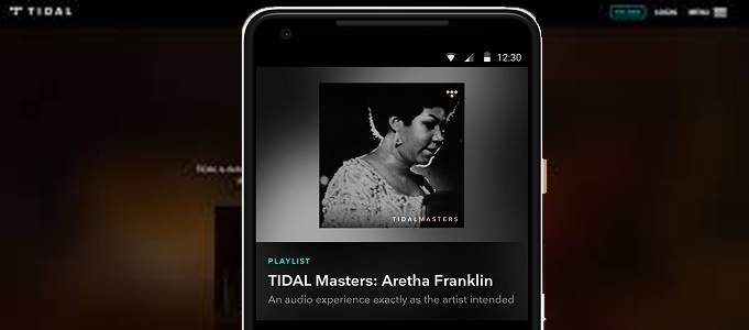 TIDAL MASTERS ARRIVES ON ANDROID DEVICES