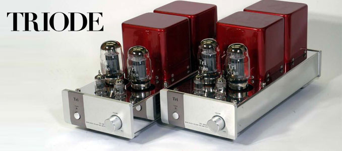 Review: Triode TRV-M88SE Mono Vacuum Tube Amplifiers