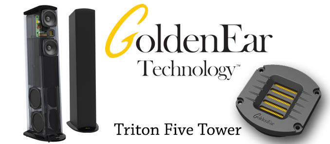 GoldenEar Expands the Triton Series