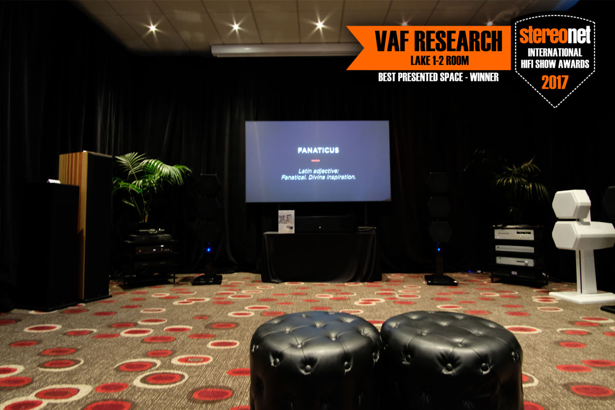 VAF - Best Presented Space