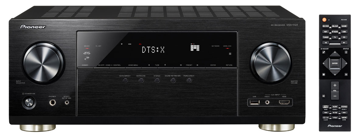 Pioneer VSX-1131 Review