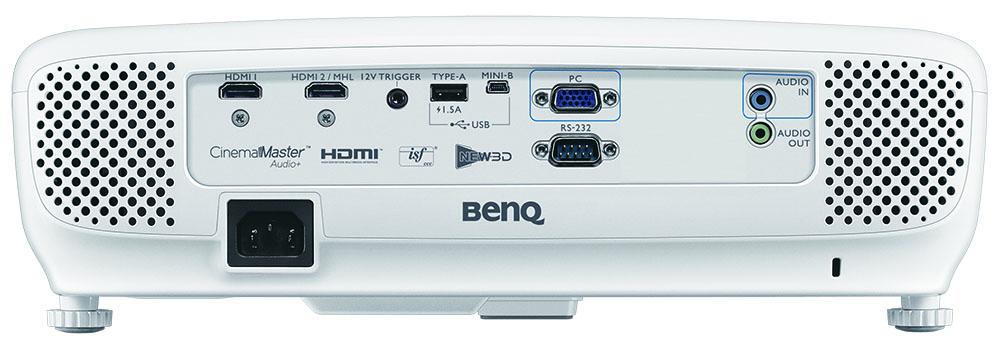 BenQ W1210ST Rear