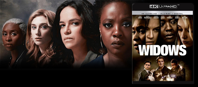 BLU-RAY REVIEW: WIDOWS 4K ULTRA HD
