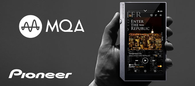 HI-RES & MQA AUDIO IN YOUR POCKET WITH PIONEER XDP-300R