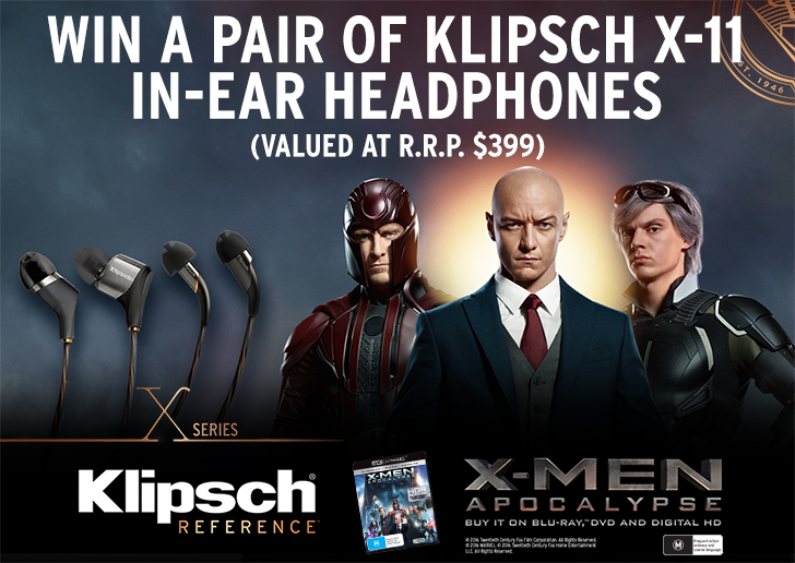 Win X-Men Apocalypse on BluRay with StereoNET and Klipsch