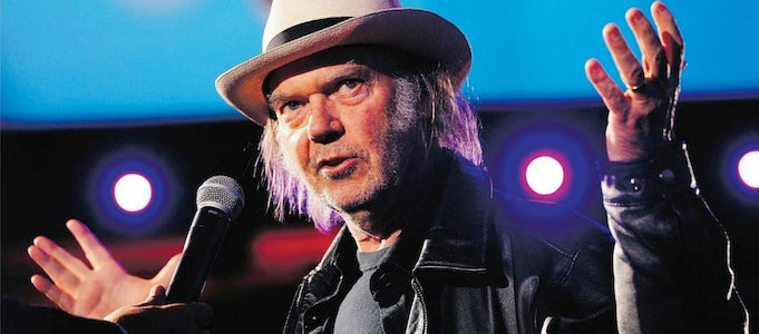 NEIL YOUNG PUSHES XSTREAM MUSIC SERVICE