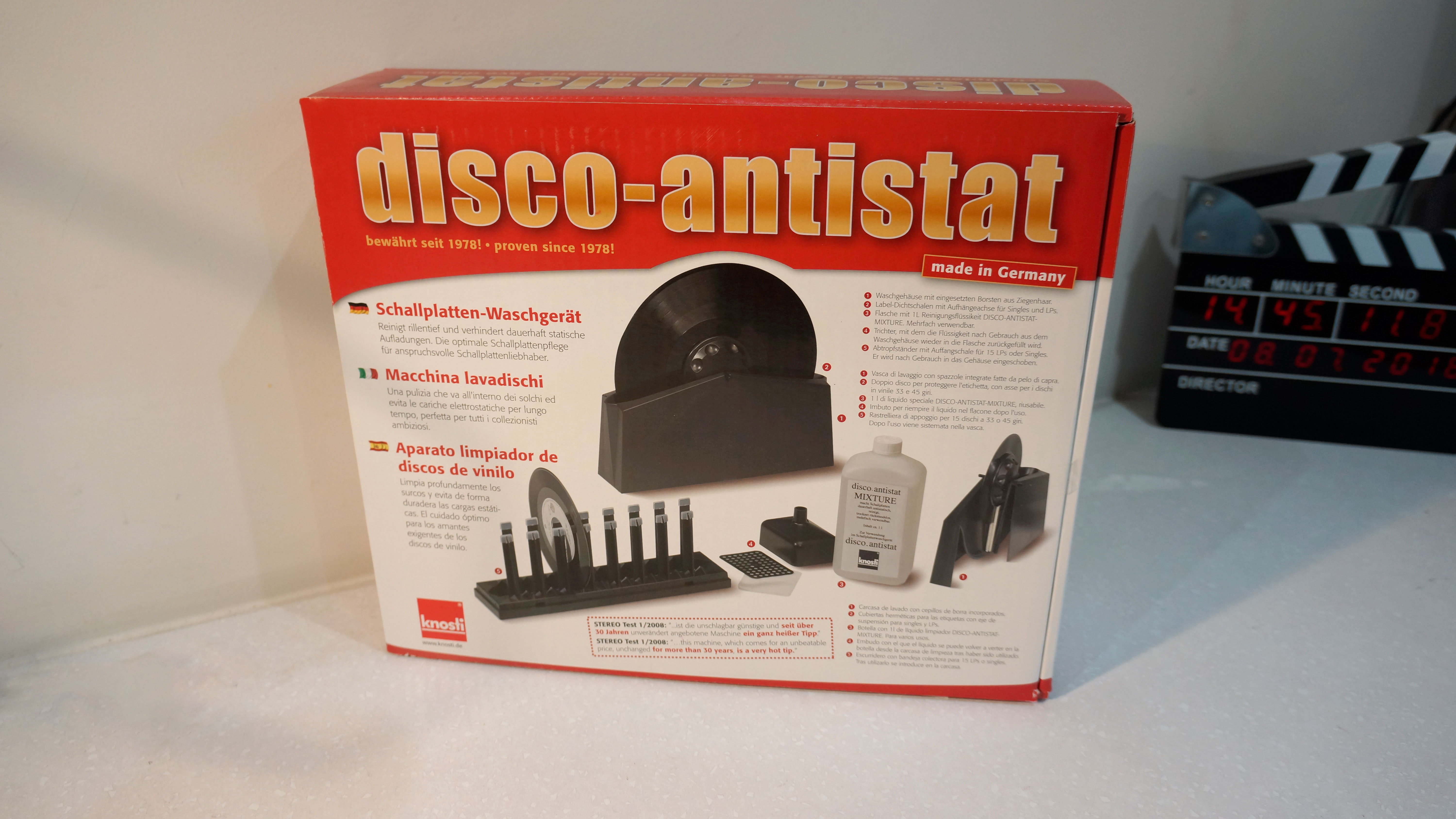 Knosti Disco Antistat Record Cleaner Review Stereonet