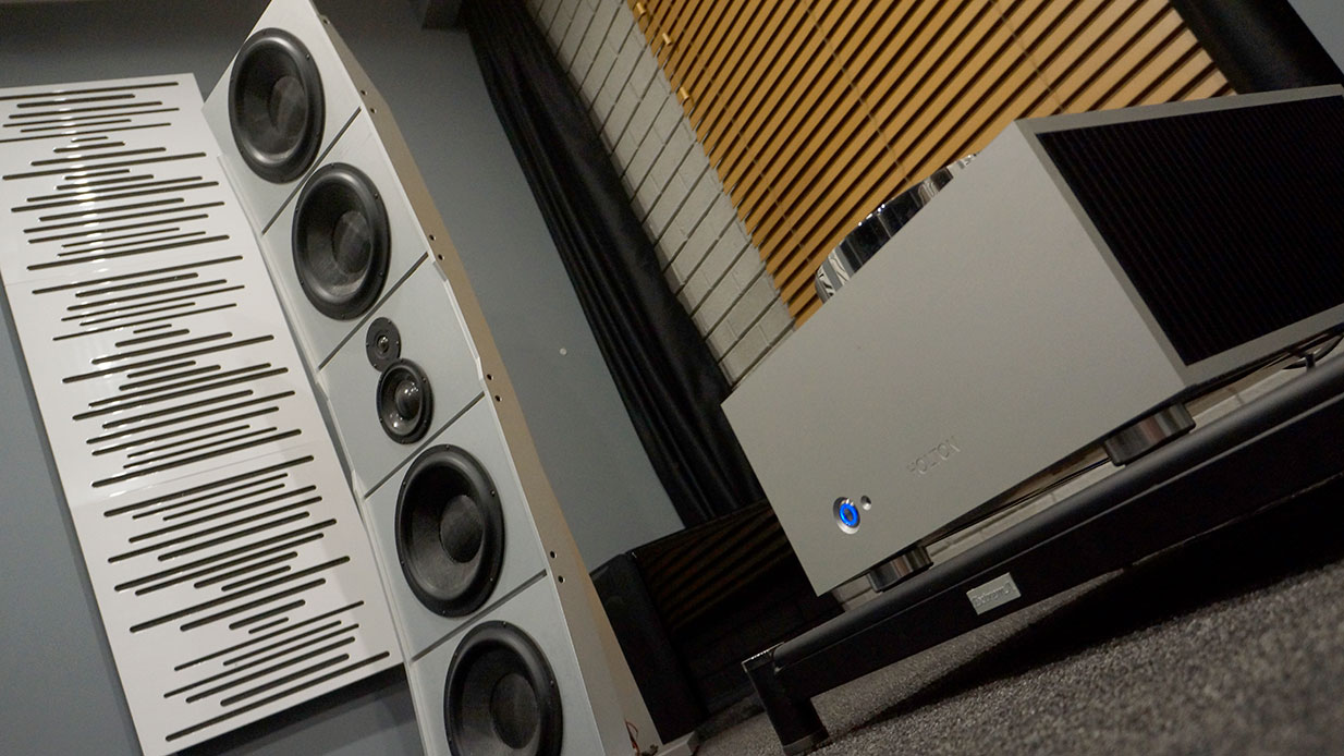 PureAudioProject Stellar12 Loudspeakers with Holton Audio Ex Nihilo Amplfiers